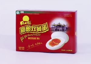 鸿胜guo际平台 高邮shuang黄蛋/礼盒/4枚/240g 特chan店景点zhuan供